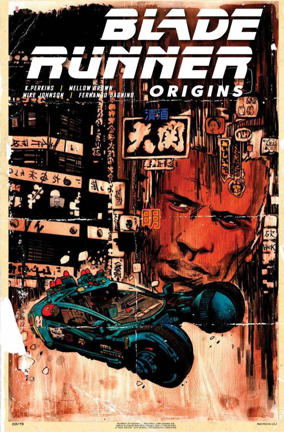 BLADE RUNNER ORIGINS #1 CVR D HACK - Black Cape Comics