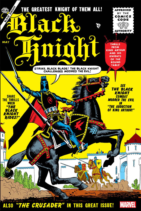 BLACK KNIGHT #1 FACSIMILE EDITION - Black Cape Comics