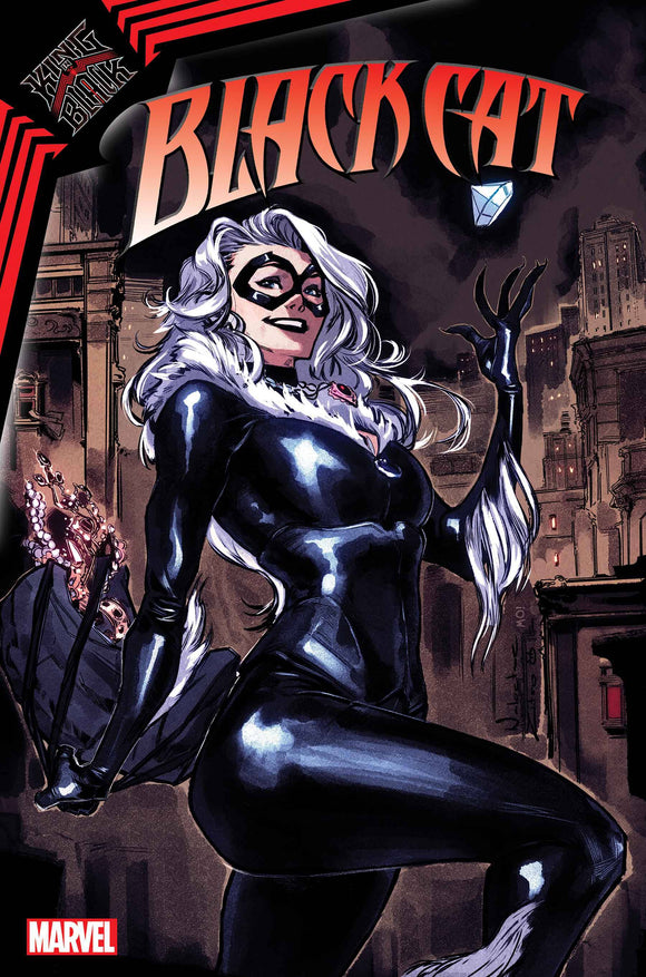 BLACK CAT #3 ZITRO VAR KIB - Black Cape Comics