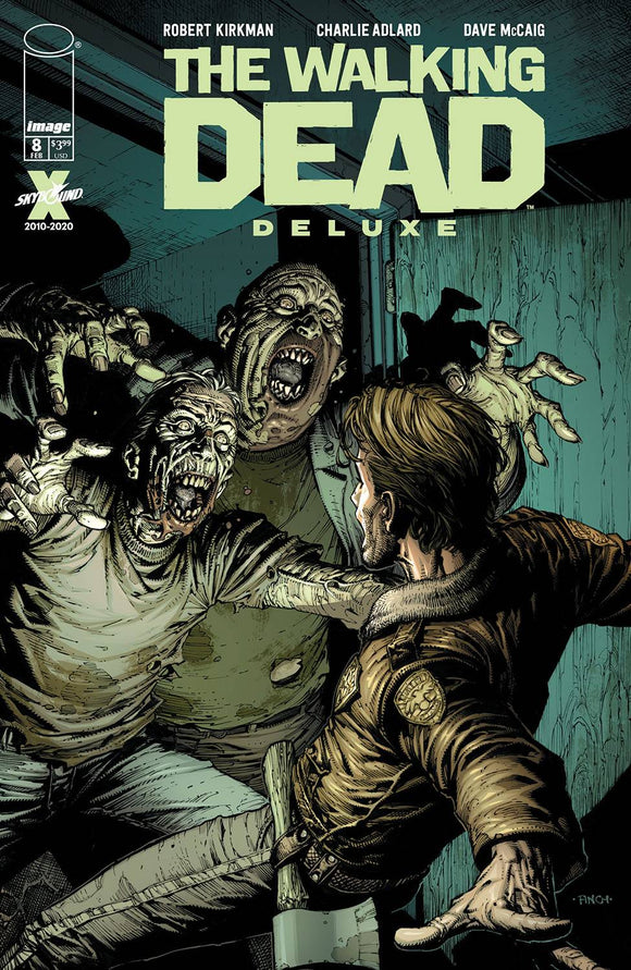 WALKING DEAD DLX #8 CVR A FINCH & MCCAIG (MR) - Black Cape Comics