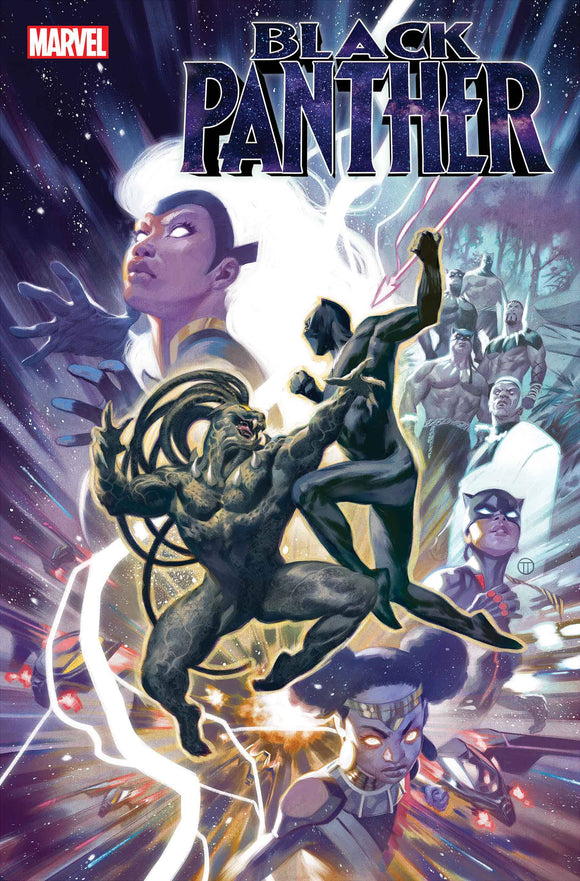 BLACK PANTHER #23 SOUZA BLACK PANTHER BLACK HISTORY VAR - Black Cape Comics