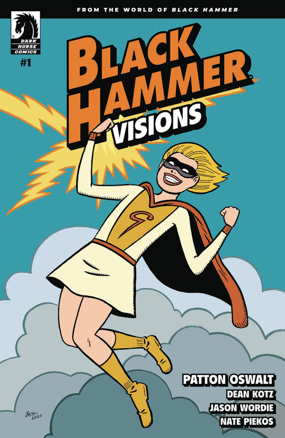 BLACK HAMMER VISIONS #1 (OF 8) HERNANDEZ STEWART VAR ED - Black Cape Comics
