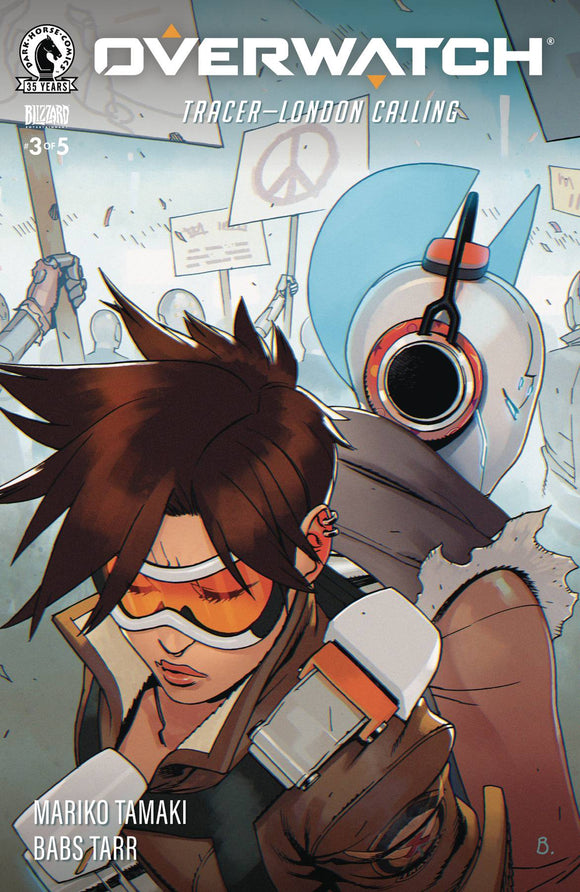 OVERWATCH TRACER LONDON CALLING #3 - Black Cape Comics