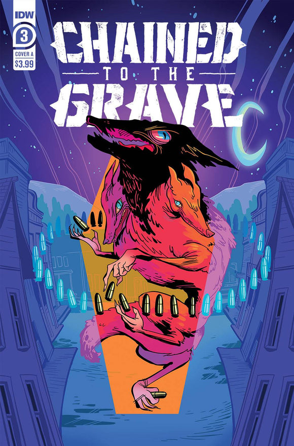 CHAINED TO THE GRAVE #3 (OF 5) CVR A SHERRON - Black Cape Comics