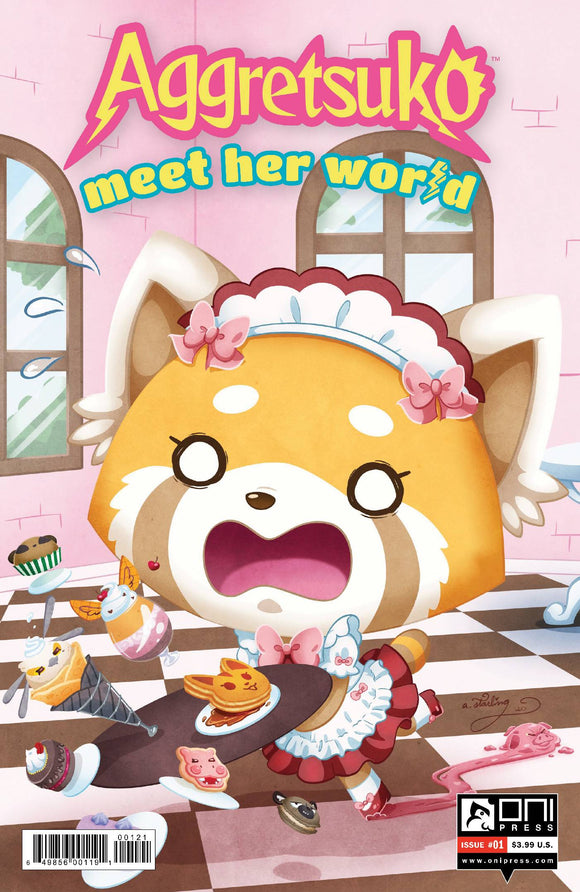 AGGRETSUKO MEET HER WORLD #1 CVR B STARLING - Black Cape Comics