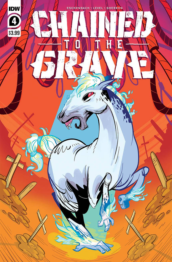 CHAINED TO THE GRAVE #4 (OF 5) CVR A SHERRON - Black Cape Comics