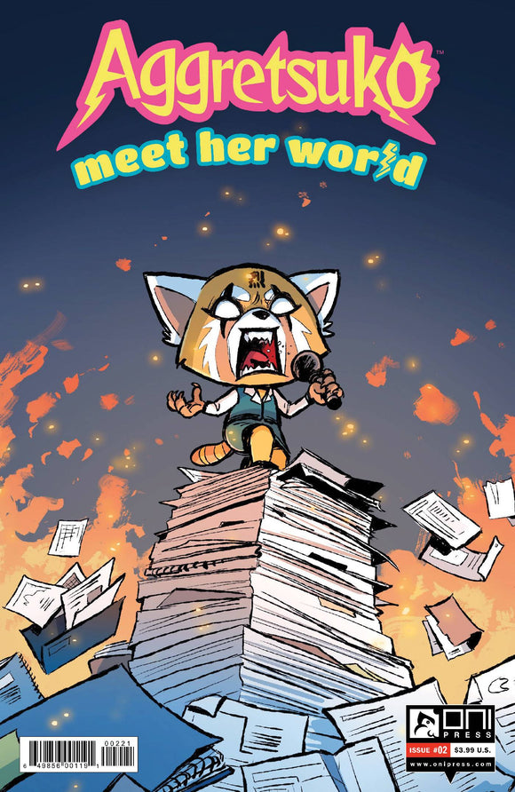 AGGRETSUKO MEET HER WORLD #2 CVR B BEAULT - Black Cape Comics