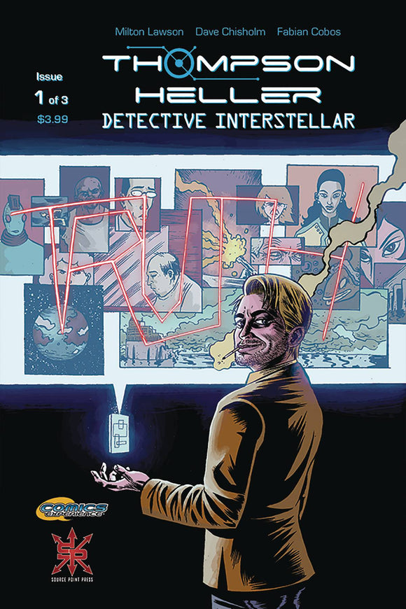THOMPSON HELLER DETECTIVE INTERSTELLAR #1 (OF 3) - SOURCE POINT PRESS - Black Cape Comic