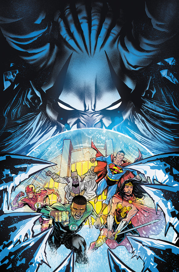 JUSTICE LEAGUE #58 CVR A FRANCIS MANAPUL (ENDLESS WINTER)