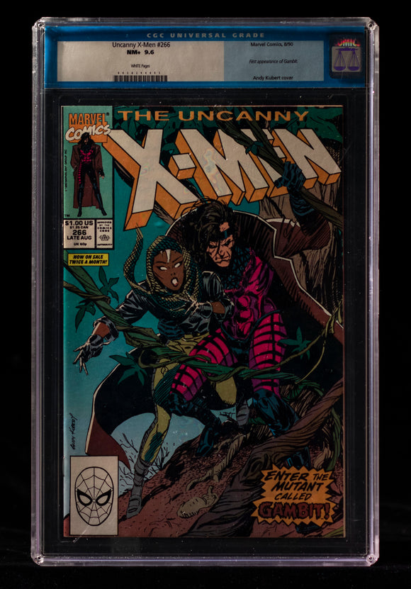 Uncanny X-Men (1963) #266 CGC 9.6 - Black Cape Comics
