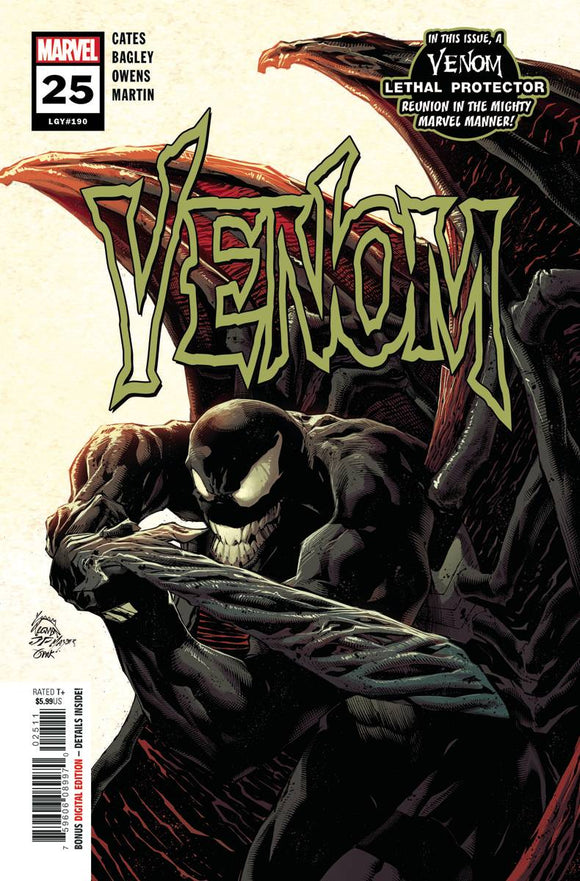 VENOM #25 - Black Cape Comics
