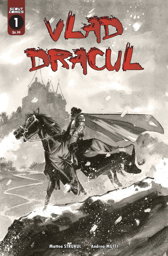 VLAD DRACUL #1 (OF 3) 2ND PTG - SCOUT COMICS - Black Cape Comic
