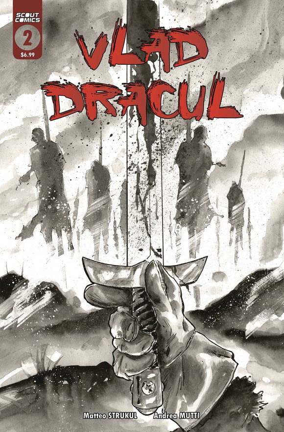 VLAD DRACUL #2 (OF 3) 2ND PTG - SCOUT COMICS - Black Cape Comic