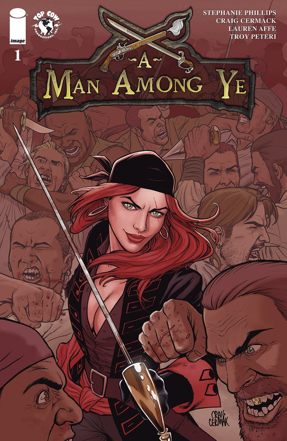 A MAN AMONG YE #1 CVR A CERMAK - IMAGE COMICS - Black Cape Comics