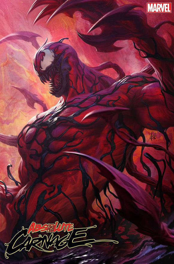 ABSOLUTE CARNAGE #1 (OF 5) ARTGERM VAR AC - MARVEL COMICS - Black Cape Comics