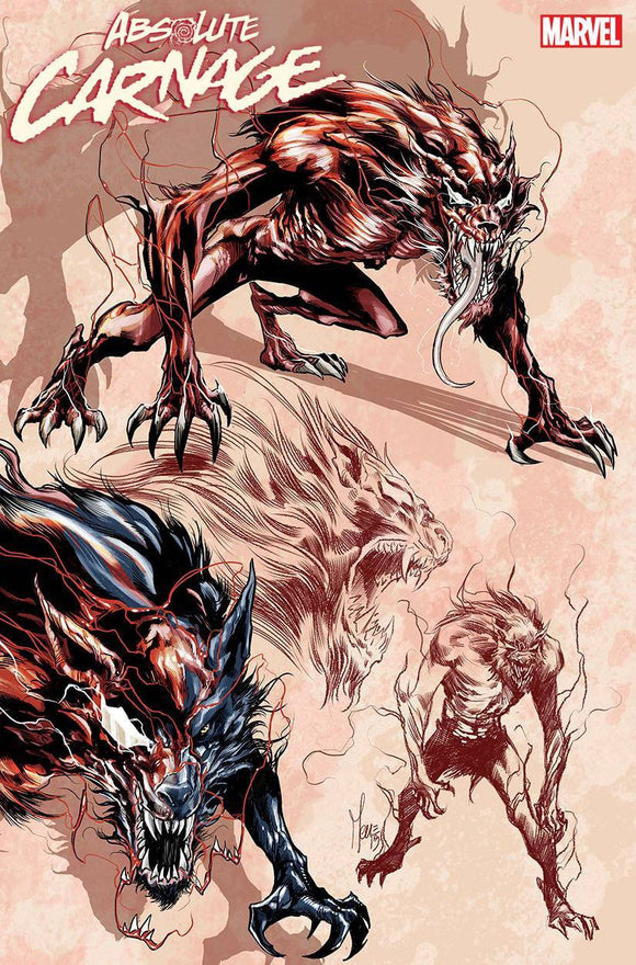 ABSOLUTE CARNAGE #2 (OF 5) CHECCHETTO YOUNG GUNS VAR AC - MARVEL COMICS - Black Cape Comics