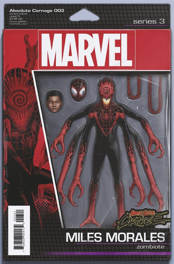 ABSOLUTE CARNAGE #3 (OF 5) CHRISTOPHER ACTION FIGURE VAR AC - MARVEL COMICS - Black Cape Comics