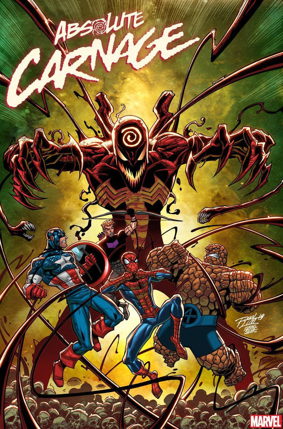 ABSOLUTE CARNAGE #3 (OF 5) RON LIM VAR AC - MARVEL COMICS - Black Cape Comics