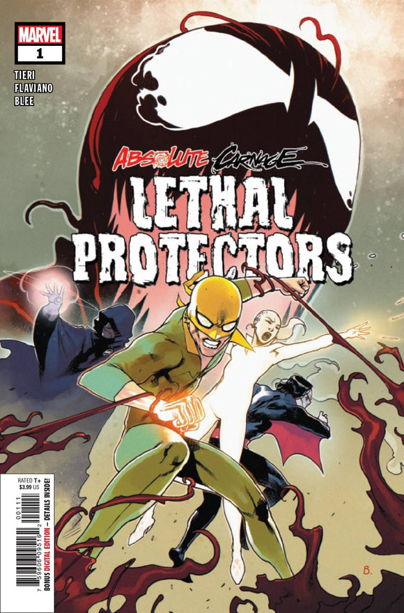 ABSOLUTE CARNAGE LETHAL PROTECTORS #1 (OF 3) AC - MARVEL COMICS - Black Cape Comics