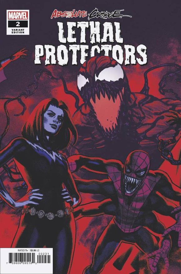 ABSOLUTE CARNAGE LETHAL PROTECTORS #2 (OF 3) GREG S VAR AC - MARVEL COMICS - Black Cape Comics