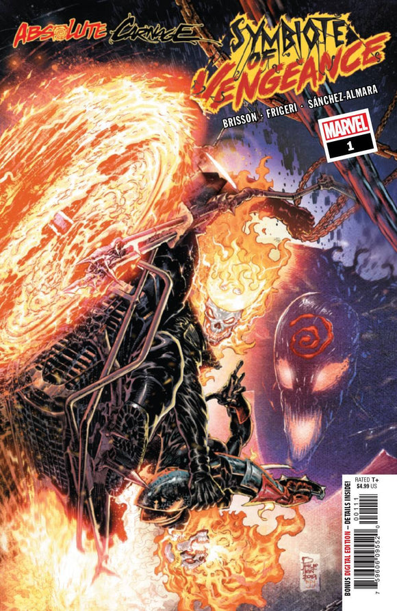ABSOLUTE CARNAGE SYMBIOTE OF VENGEANCE #1 AC - MARVEL COMICS - Black Cape Comics