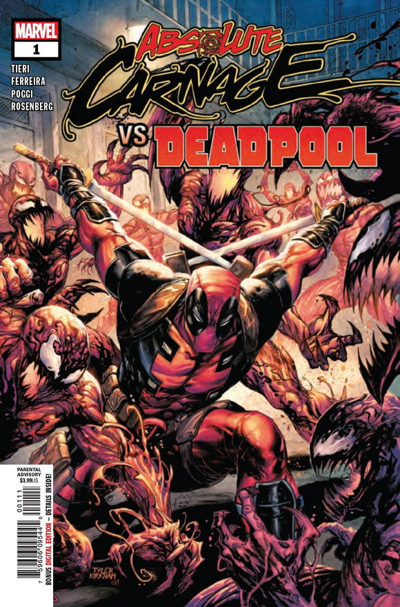 ABSOLUTE CARNAGE VS DEADPOOL #1 (OF 3) AC - MARVEL COMICS - Black Cape Comics