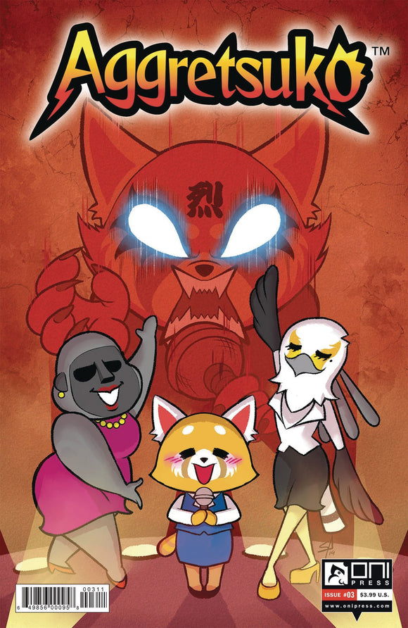 AGGRETSUKO #3 CVR B MCGINTY - ONI PRESS INC. - Black Cape Comics