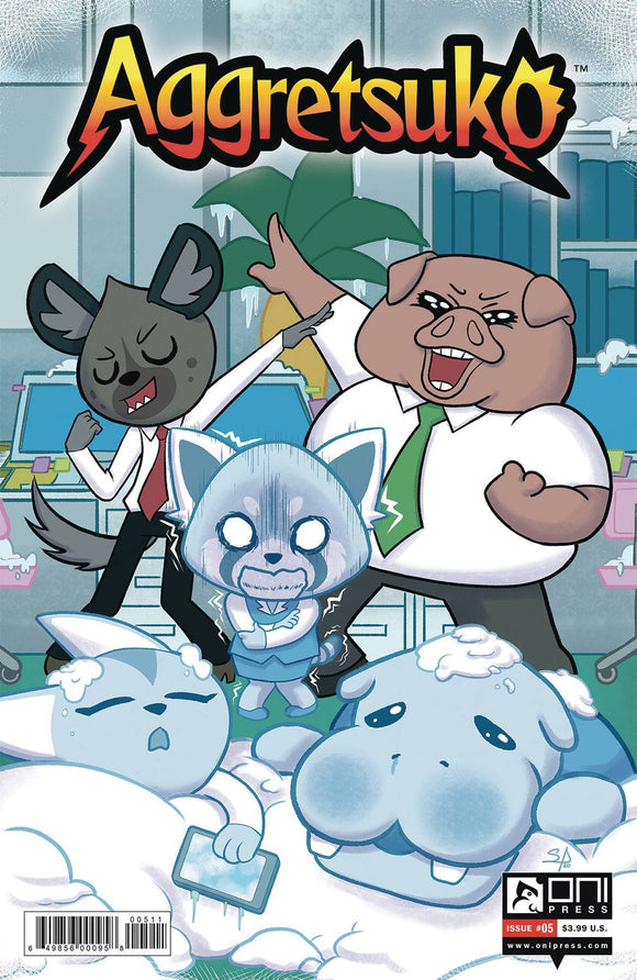 AGGRETSUKO #5 CVR A AMIN - ONI PRESS INC. - Black Cape Comics