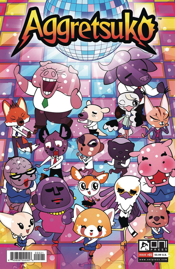 AGGRETSUKO #5 CVR B MURPHY - ONI PRESS INC. - Black Cape Comics