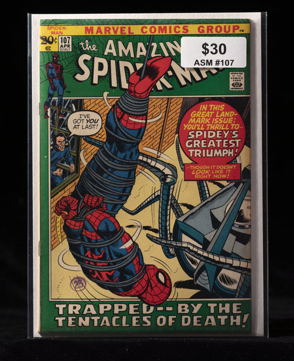 Amazing Spider-Man (1963) #107 - MARVEL COMICS - Black Cape Comics