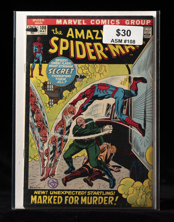 Amazing Spider-Man (1963) #108 - MARVEL COMICS - Black Cape Comics
