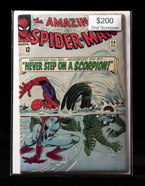 Amazing Spider-Man (1963) #29 - MARVEL COMICS - Black Cape Comics