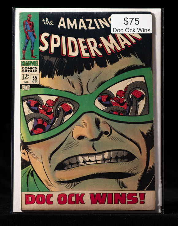 Amazing Spider-Man (1963) #55 - MARVEL COMICS - Black Cape Comics