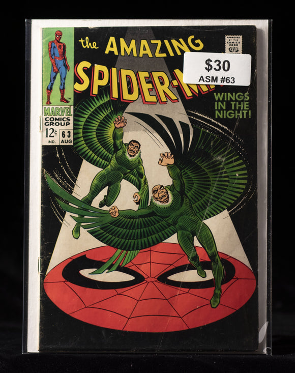 Amazing Spider-Man (1963) #63 - MARVEL COMICS - Black Cape Comics