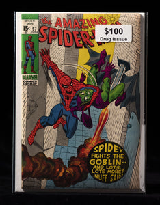 Amazing Spider-Man (1963) #97 - Marvel Comics - Black Cape Comics