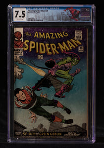 Amazing Spider-Man #39 CGC 7.5 - MARVEL COMICS - Black Cape Comics