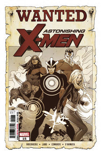 ASTONISHING X-MEN #15 - MARVEL COMICS - Black Cape Comics