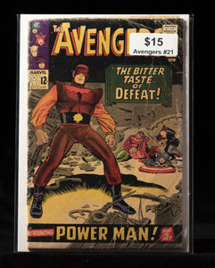Avengers (1963) #21 - MARVEL COMICS - Black Cape Comics