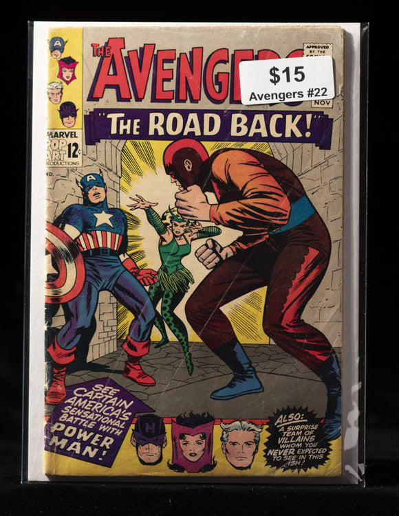 Avengers (1963) #22 - MARVEL COMICS - Black Cape Comics