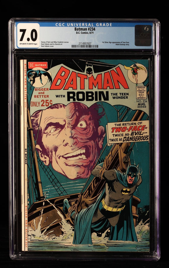 Batman #234 CGC 7.0 - DC COMICS - Black Cape Comics