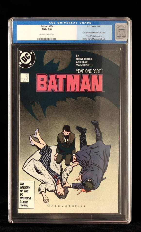 Batman #404 CGC 9.6 - Black Cape Comics - Black Cape Comics