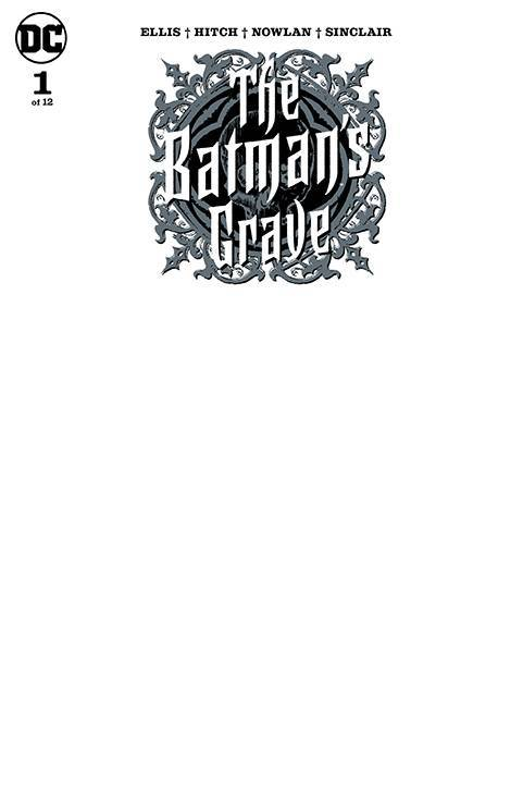 BATMANS GRAVE #1 (OF 12) BLANK VAR ED - DC COMICS - Black Cape Comics