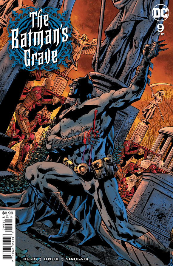 BATMANS GRAVE #9 (OF 12) CVR A BRYAN HITCH - DC COMICS - Black Cape Comics