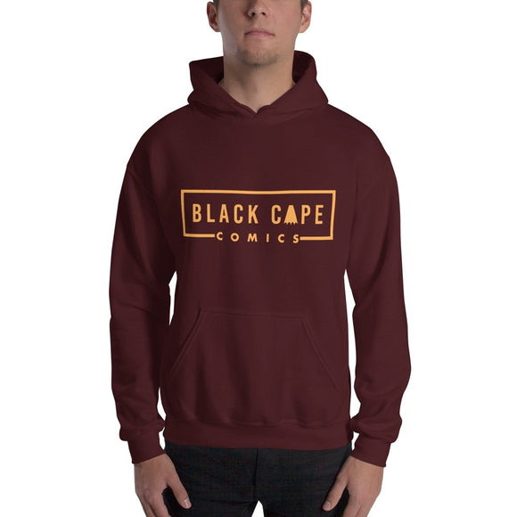 Black Cape Gold Logo Unisex Hoodie - Black Cape Comics - Black Cape Comics