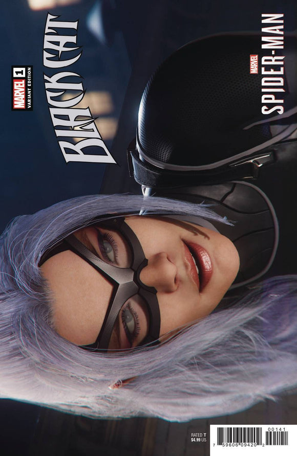 BLACK CAT #1 GAME VAR 1:10 - MARVEL COMICS - Black Cape Comics