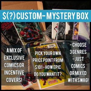 $(?) Custom Mystery Box - Black Cape Comics - Black Cape Comics