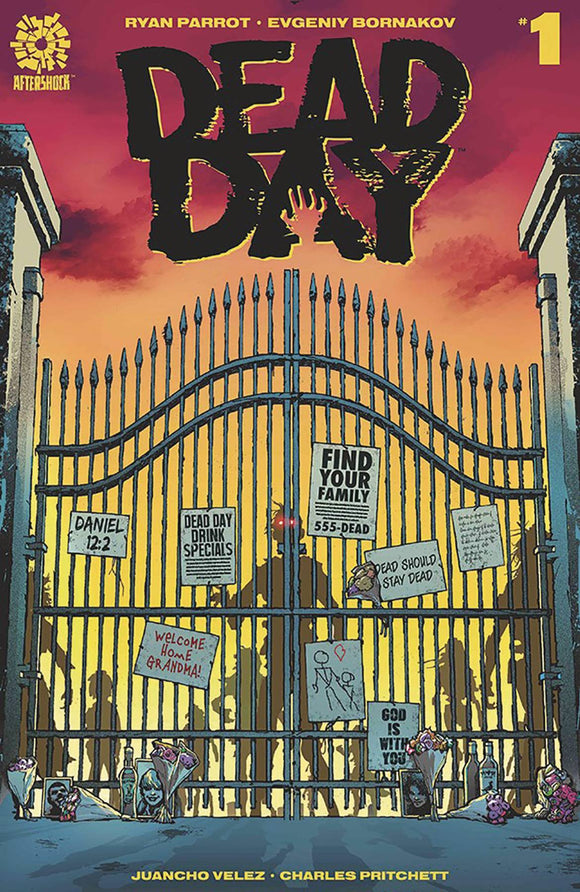 DEAD DAY #1 CVR A CLARKE - AFTERSHOCK COMICS - Black Cape Comics