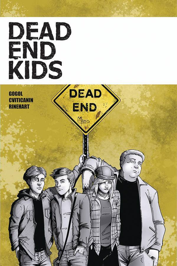 DEAD END KIDS TP - SOURCE POINT PRESS - Black Cape Comics