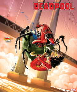 DEADPOOL #5 ANDOLFO SPIDER-WOMAN VAR - MARVEL COMICS - Black Cape Comics