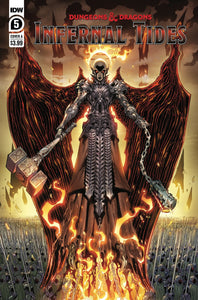 DUNGEONS & DRAGONS INFERNAL TIDES #5 (OF 5) CVR A DUNBAR - IDW PUBLISHING - Black Cape Comics